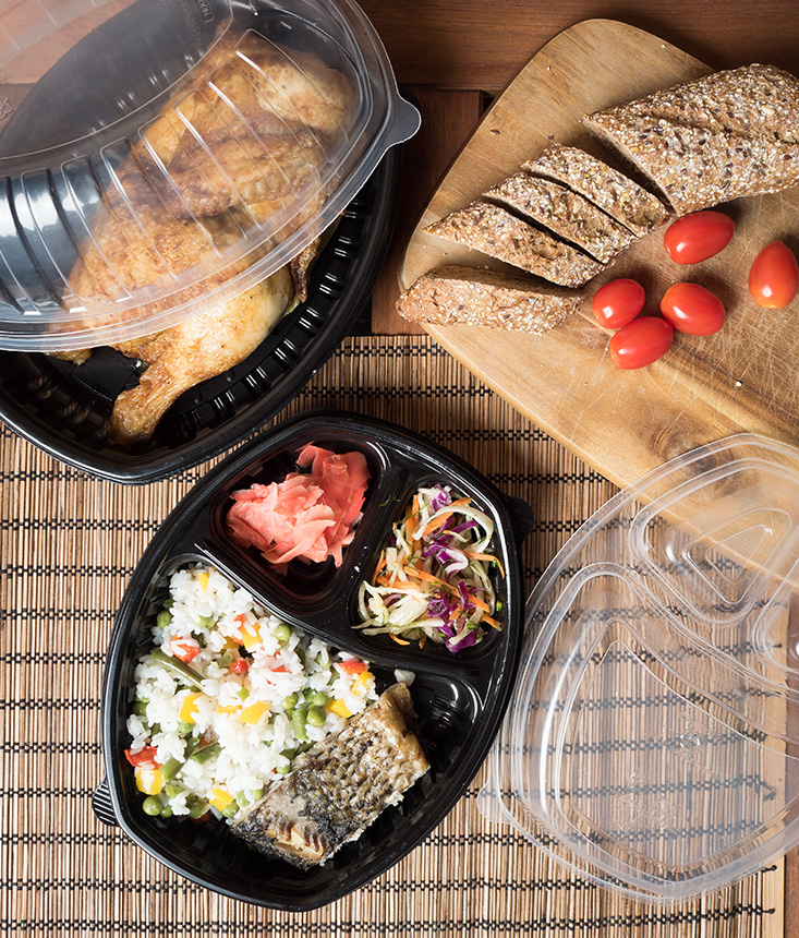 Sp-257 and Sp-258 Lunch Box Containers